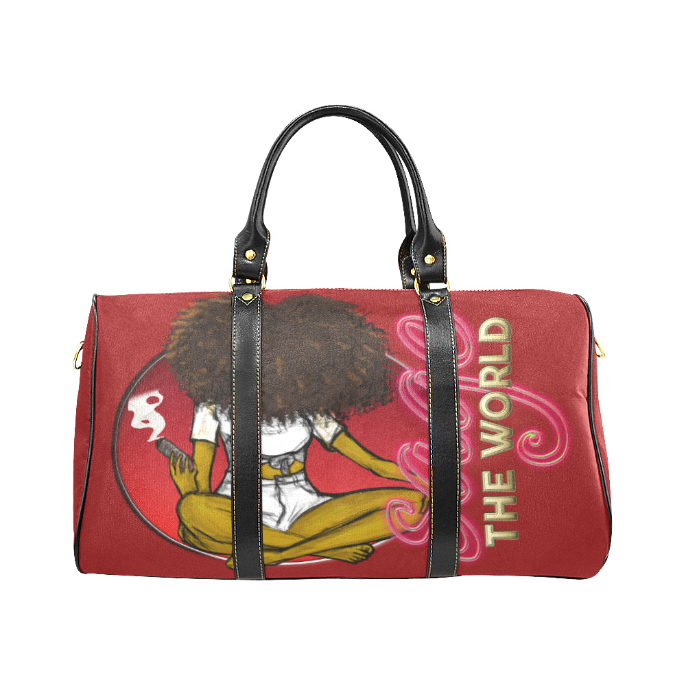 Sage the World Travel Bag - red