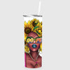 Dope Sunflower Sistah Tumbler Sublimation Transfer