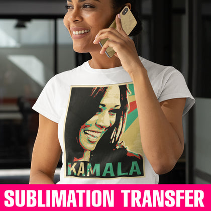 Kamala Sublimation Transfer