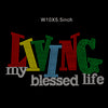 Living My Blessed Life Rhinestone Transfer