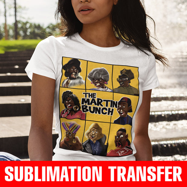 The Martin Bunch Sublimation Transfer