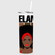 Melanin Queen Tumbler Sublimation Transfer