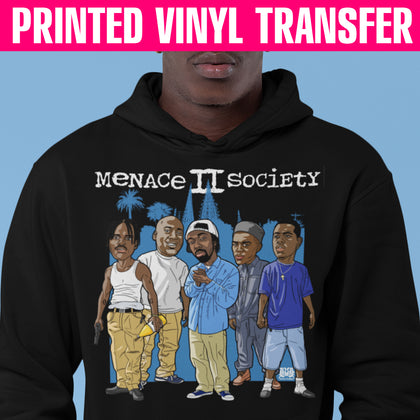Menace II Society Vinyl Transfer