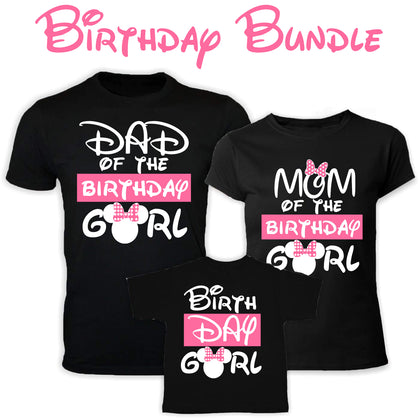 Minnie Birthday Girl Bundle PNG SVG