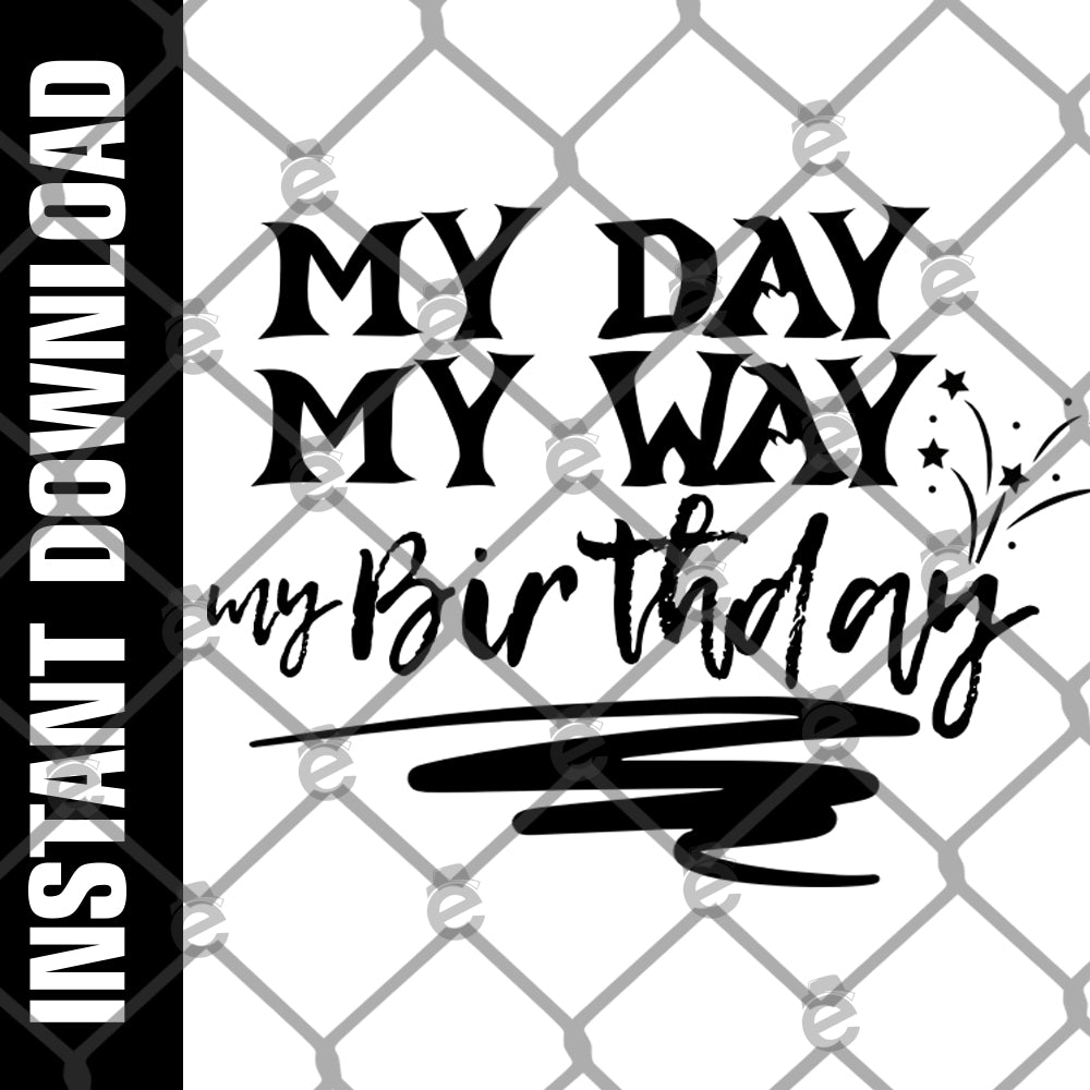 My Day My Way PNG SVG
