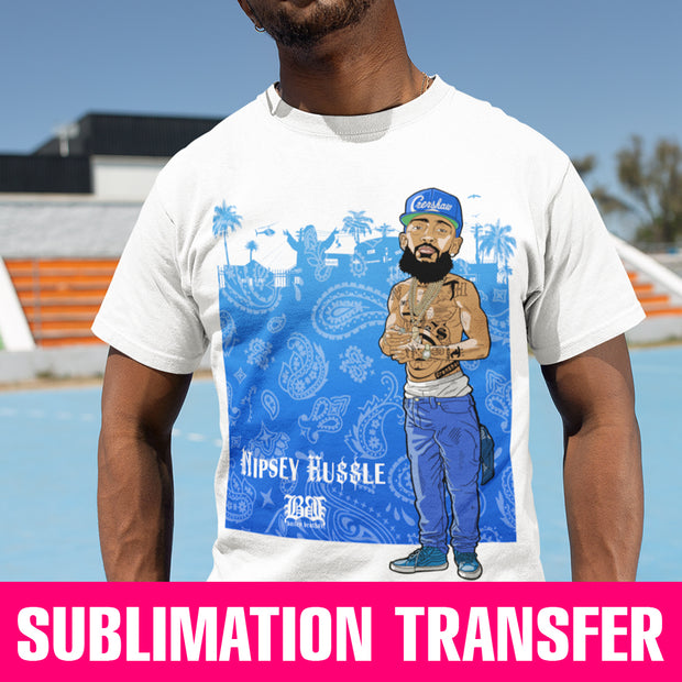 Nipsey Sublimation Transfer