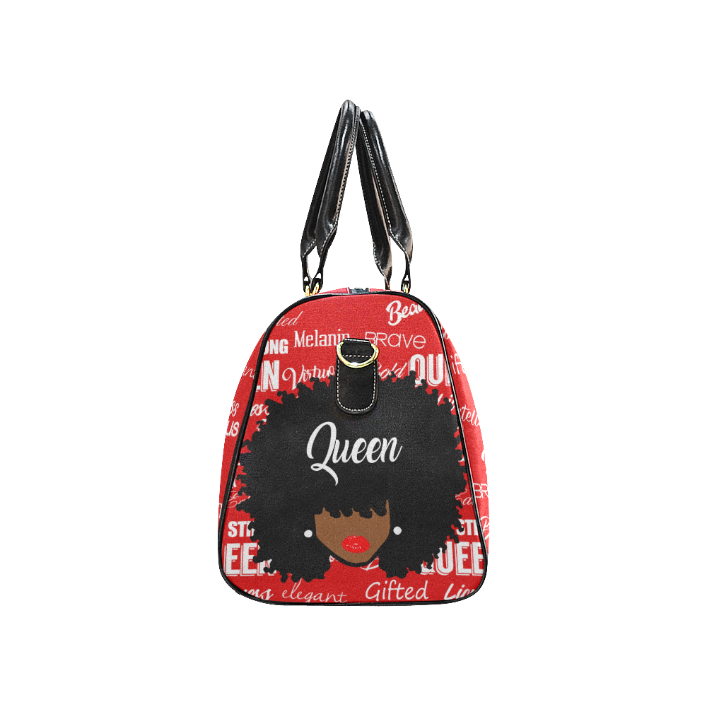 Queen Motives Travel Bag - red