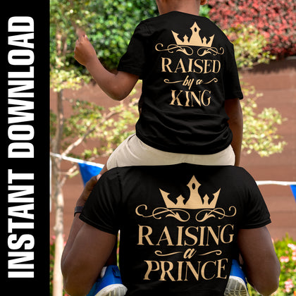 Raised by a King-Raising a Prince PNG SVG