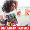 The Bel-Air Bunch Sublimation Transfer