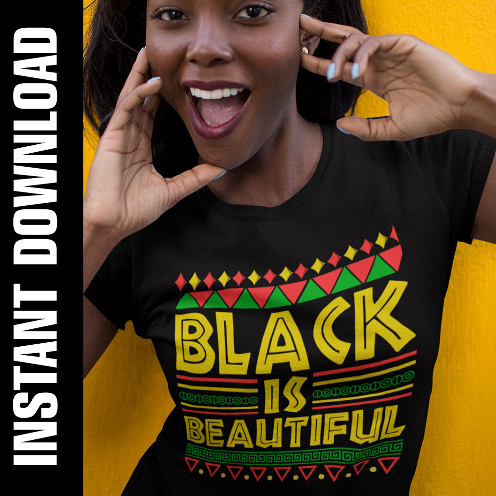 Black is Beautiful PNG SVG