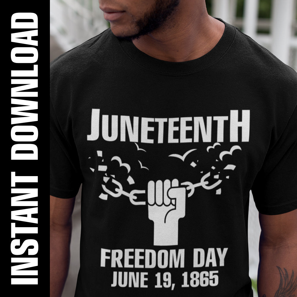 Juneteenth Fist PNG SVG