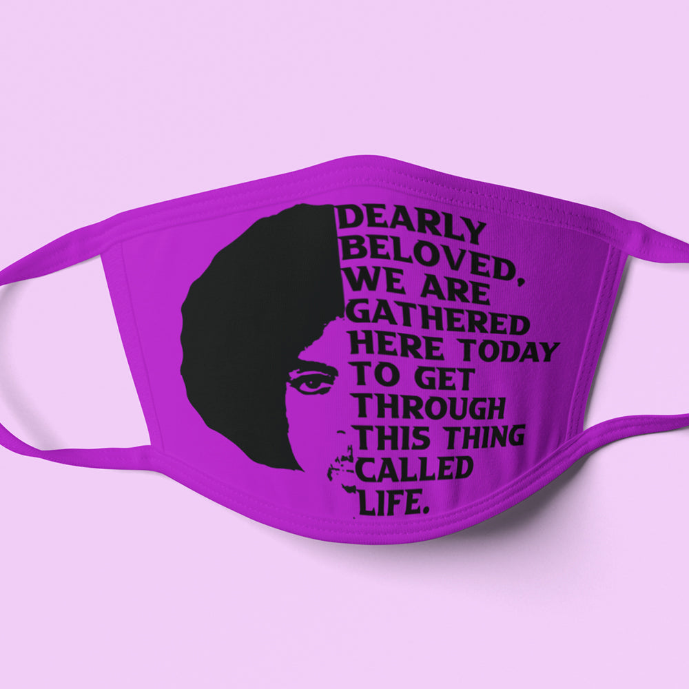 Prince Dearly Beloved Mask Design PNG SVG