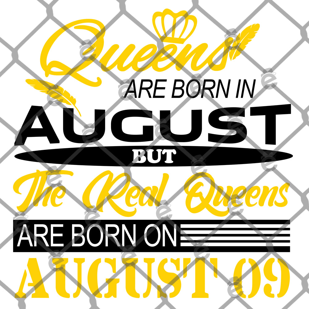 Queens Are Born In PNG SVG