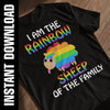 I Am The Rainbow Sheep PNG SVG