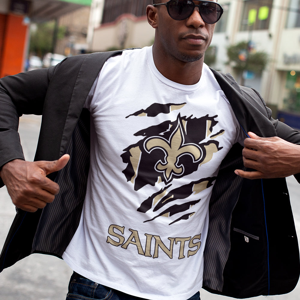 Saints Scratch Sublimation Transfer