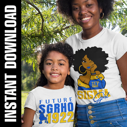 50 AKA DST ZPB SgRho Sorority PNG SVG Bundle