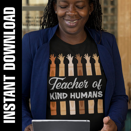 Teacher of Kind Humans PNG SVG