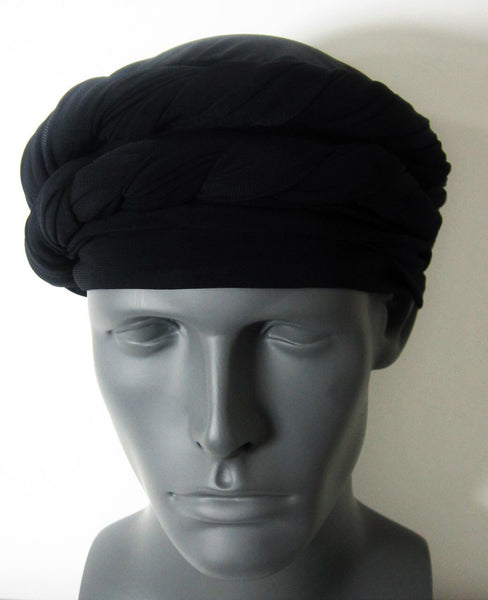 Black EZ PZ Turban Wrap