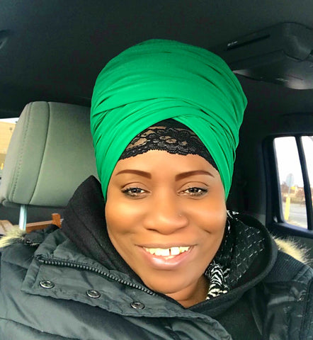 Emerald Head-Wrap
