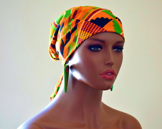 Kente Queen Bandanna