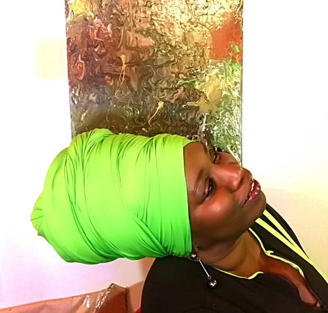 Lime Head-Wrap