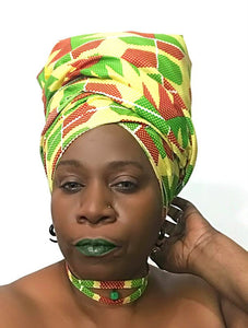 Afrocentric Headwrap