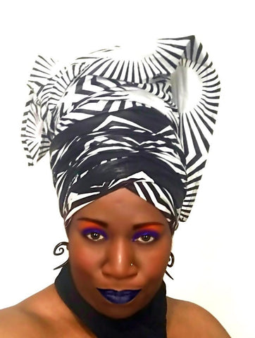 Afrocentric Head-Wrap