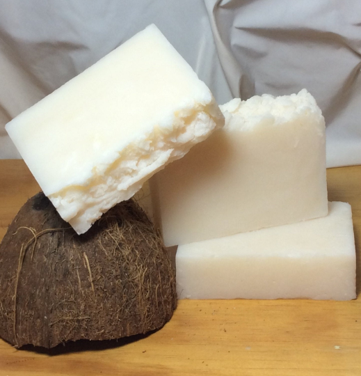Peppermint Coconut Oil Shampoo Bar