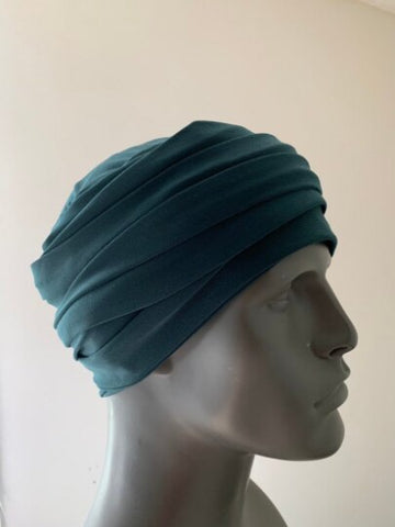 Hunter Green EZ PZ Turban Wrap