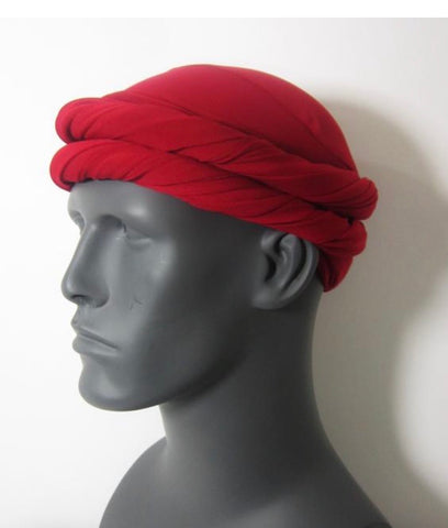 Red EZ PZ Turban Wrap