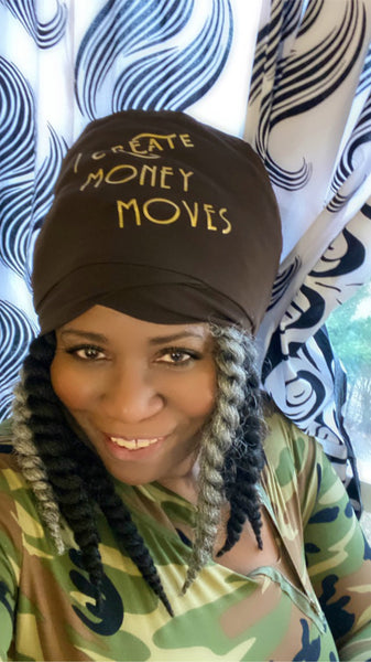I  Create  Money Moves Stretch Hat