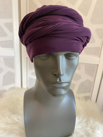 Plum EZ PZ Turban Wrap