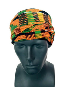 Kente EZ PZ Turban Wrap