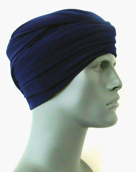Navy EZ PZ Turban Wrap
