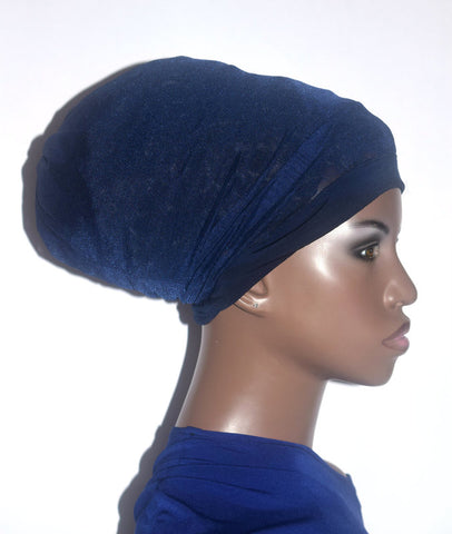 Navy Hair Net