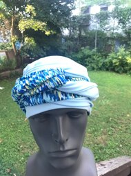 Printed Match EZ PZ Turban Wrap