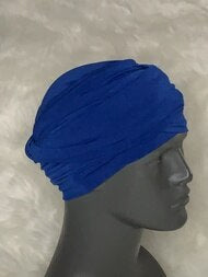Royal Blue EZ PZ Turban Wrap