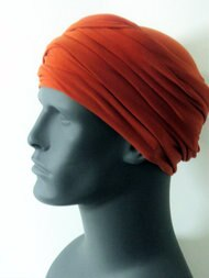 Rust EZ PZ Turban Wrap