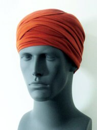 Rust EZ PZ Turban For Men