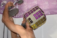 Shower Time Adjustable Shower Cap
