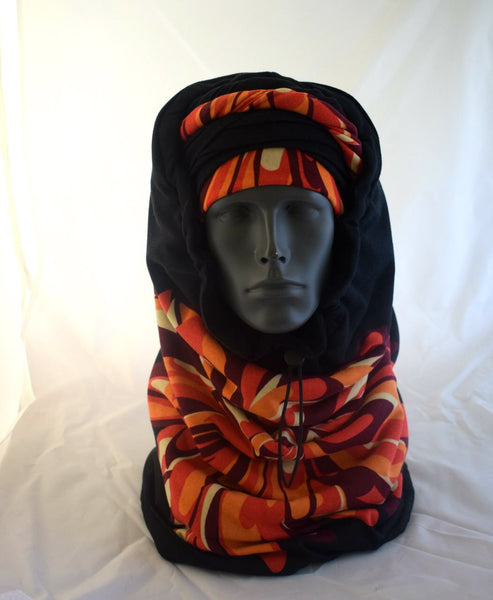 Sunburst  EZ PZ Turban And Scarf  Set