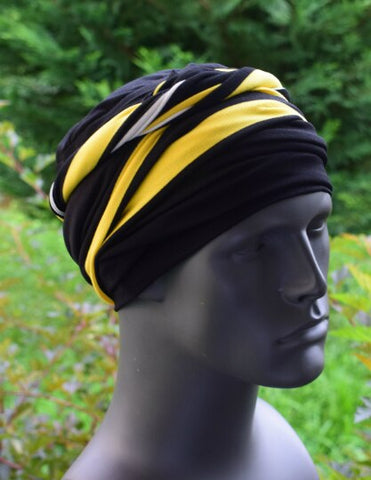The Stripe EZ PZ Turban Wrap