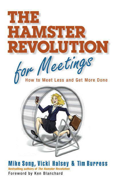 Hamster Revolution for Meetings Book - Hardcover