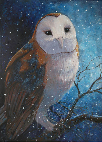 Moonlit Owl (Original)