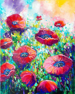 Playful Poppies V