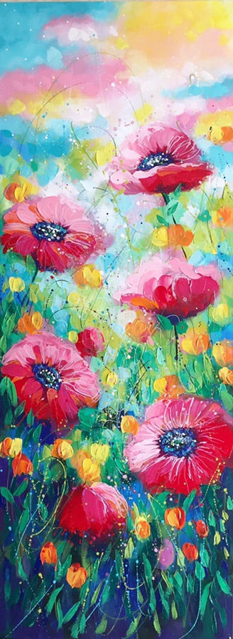 Playful Poppies III