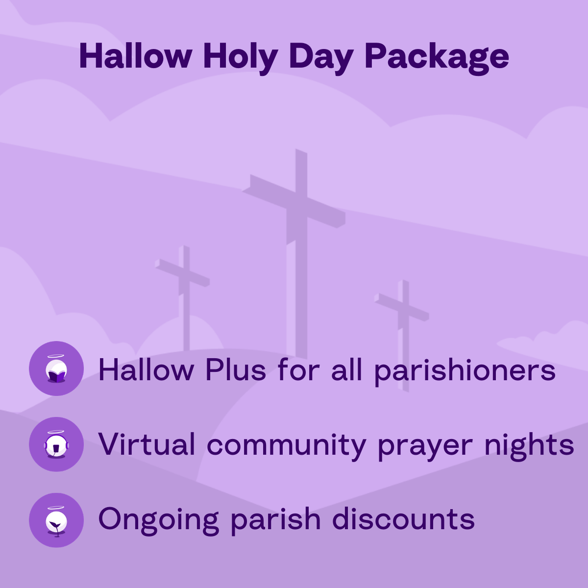 Parish Holy Day Package