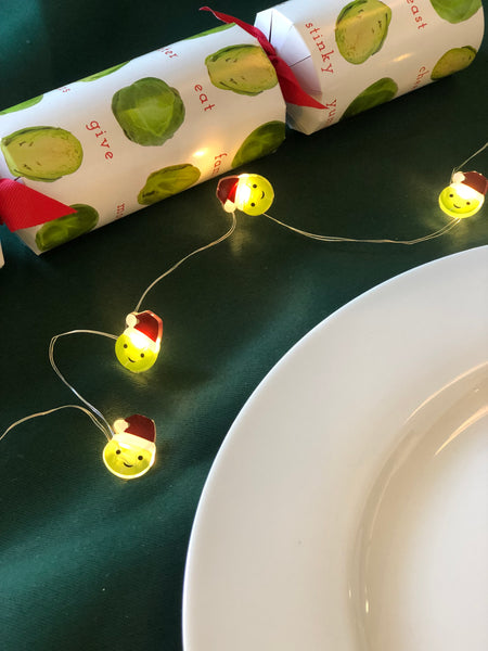 Brussle sprout string lights