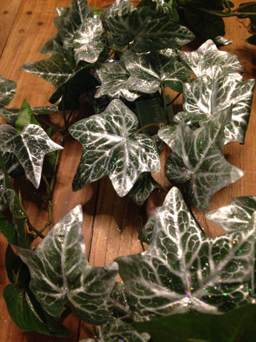 Faux ivy Christmas garland