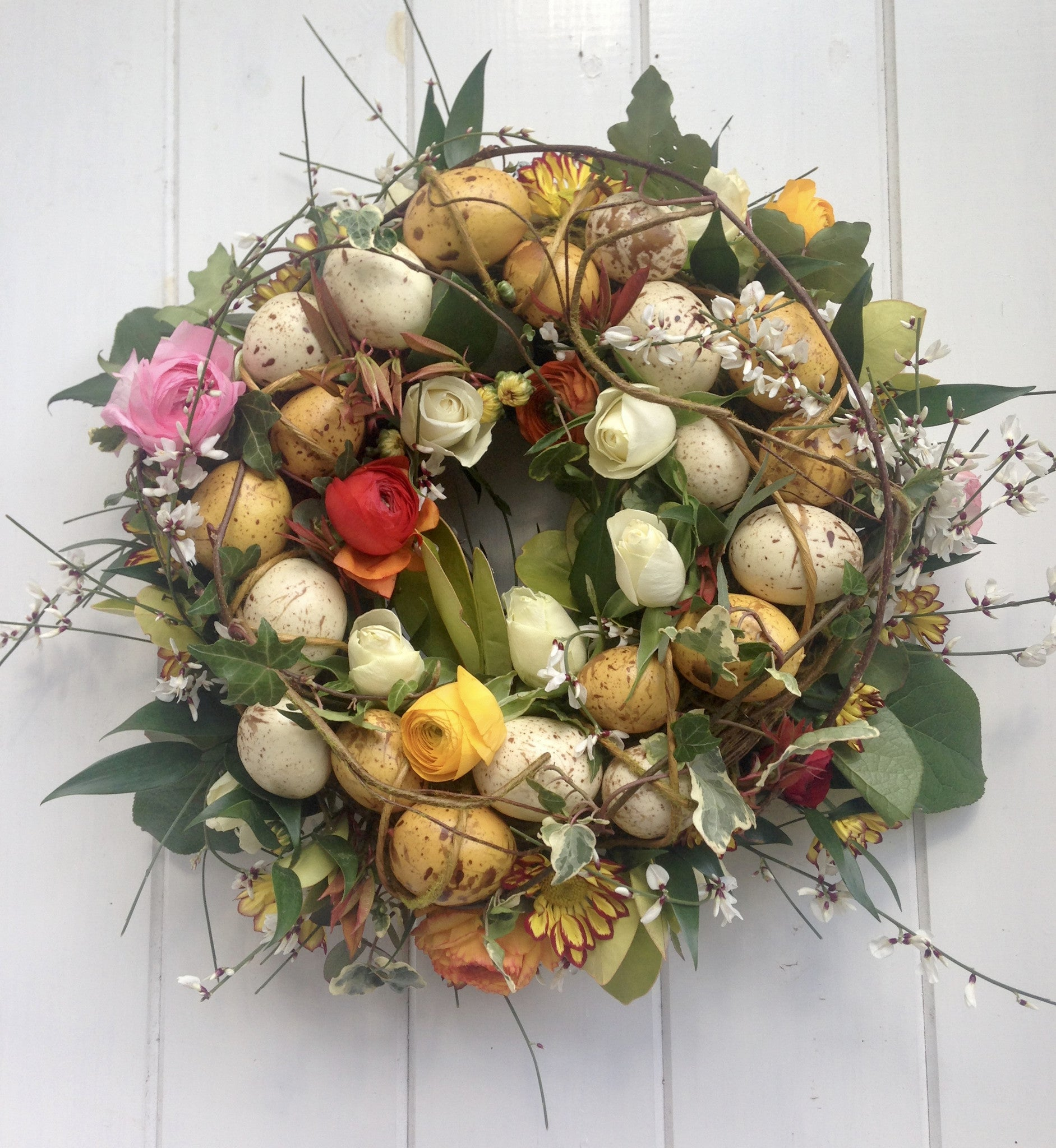 living colorful door basket home flowers spring wreaths wreath that decor southern tk brighten with will your diy